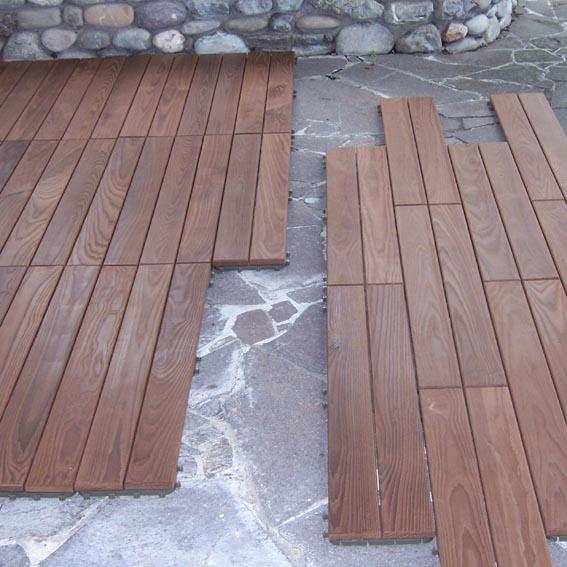 PAVIMENTO PER ESTERNO - Crocco Profili in legno