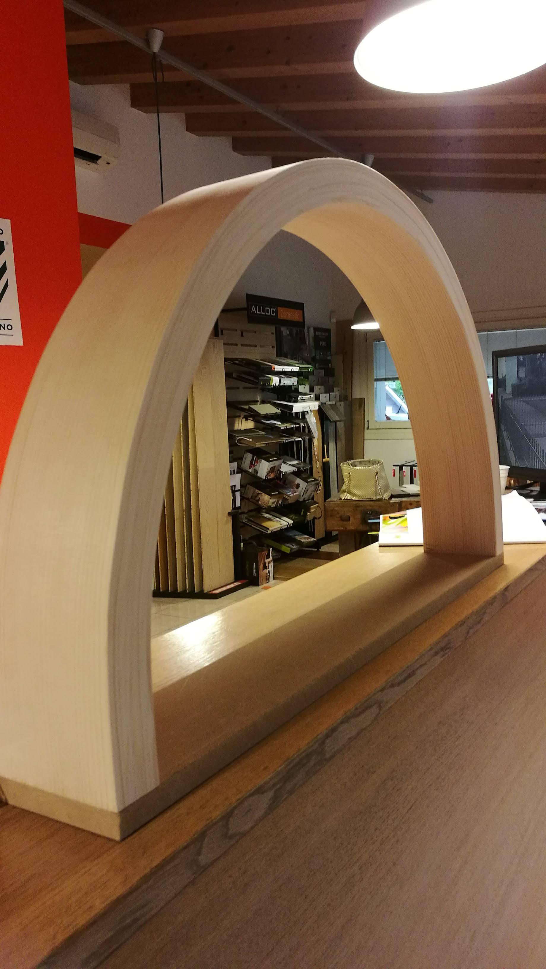 STIPITE ARCATO - Crocco Profili in legno